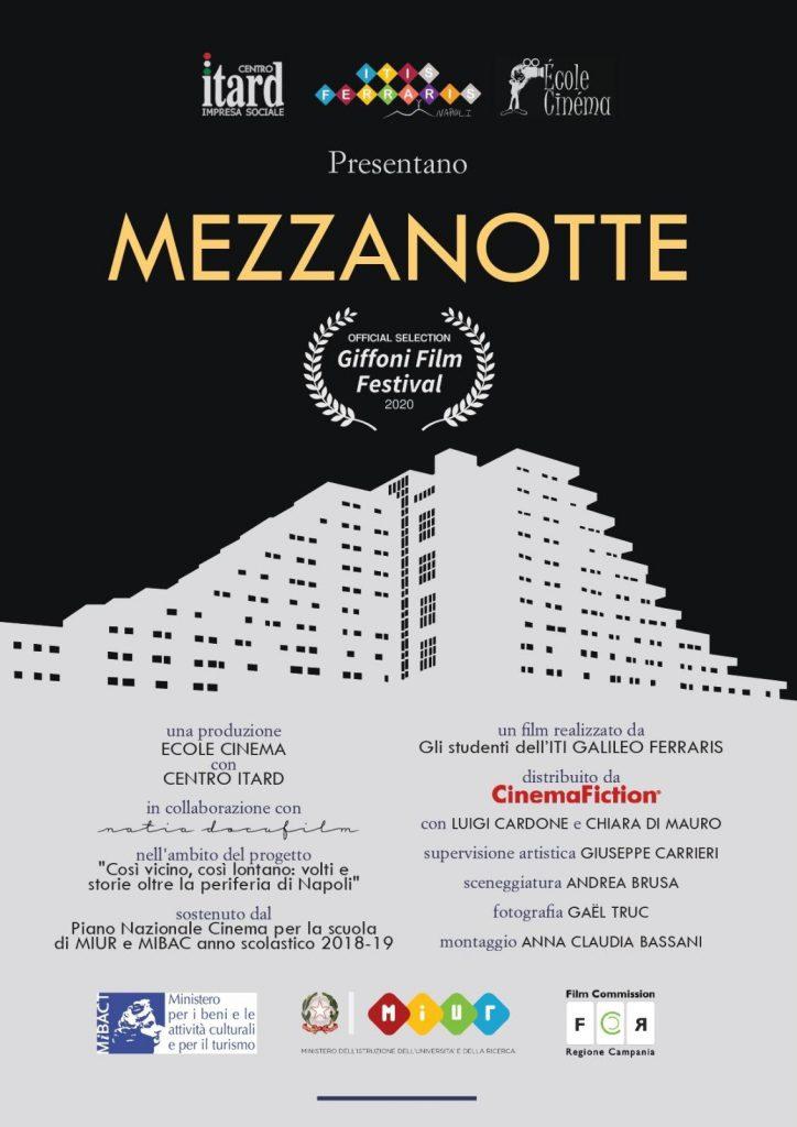 """Il film """"Mezzanotte"""" premiato come miglior regia"""